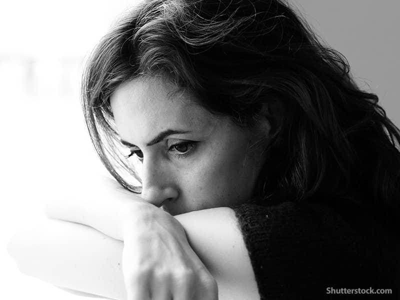 people woman sad thinking