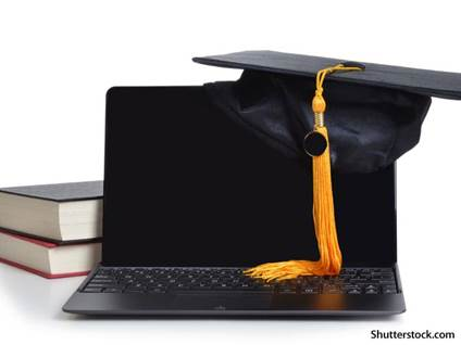 education laptop graduate