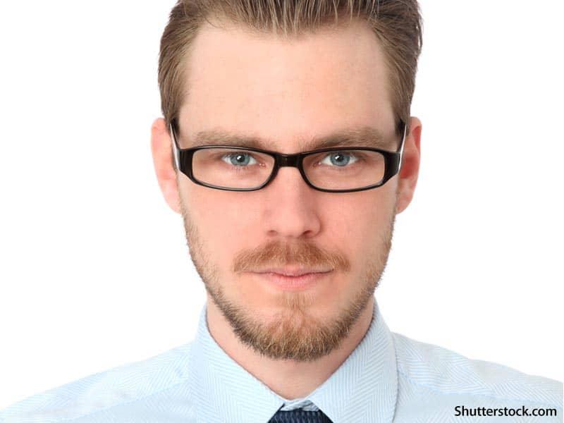 people smart looking man