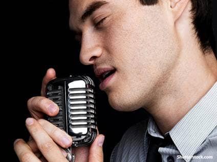 people man singing