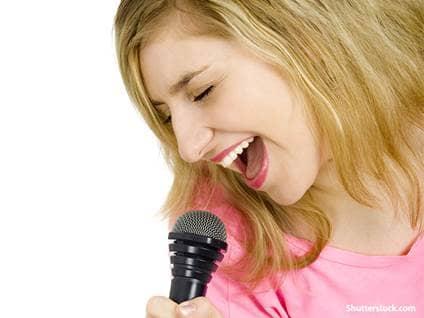 people woman singing
