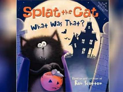 Splat the Cat what Was That