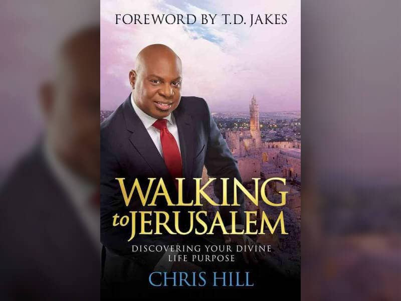 Walking to Jerusalem Book Cover