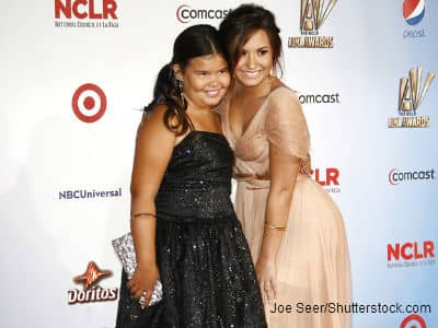 Demi Lovato and Madison DeLaGarza