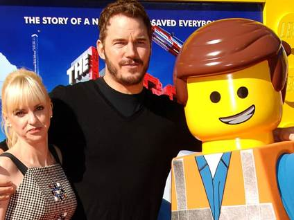 Chris Pratt With Wife