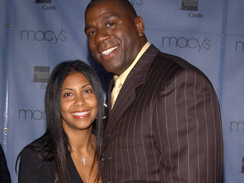Cookie and Magic Johnson