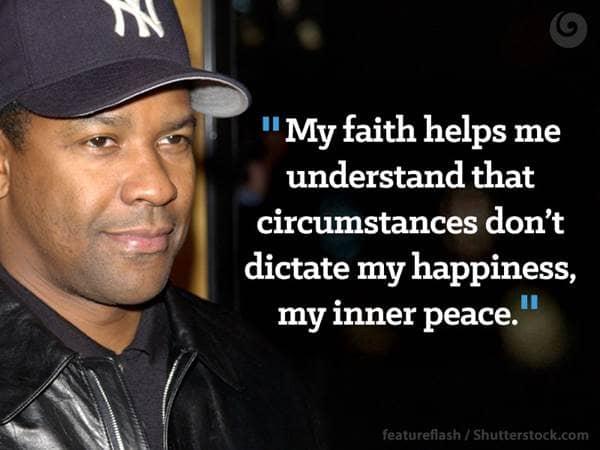Denzel Washington Quotes Amazing Faith Quotes From Denzel Washington  Beliefnet