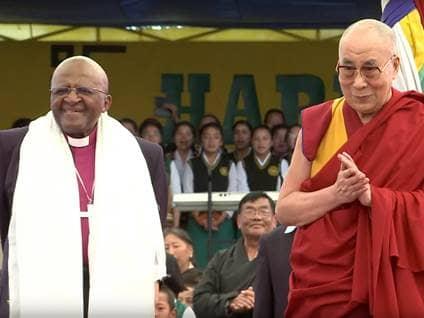 Tutu and Dali Lama