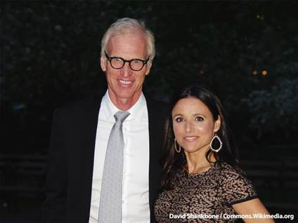 Julia Louis Dreyfus and Bradd Hall
