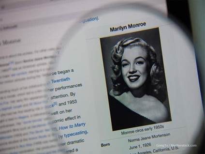 who is marilyn monroe, faith facts of movie star marilyn monroe