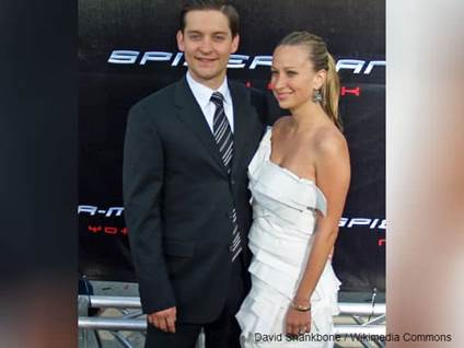 Tobey Maguire and Wife