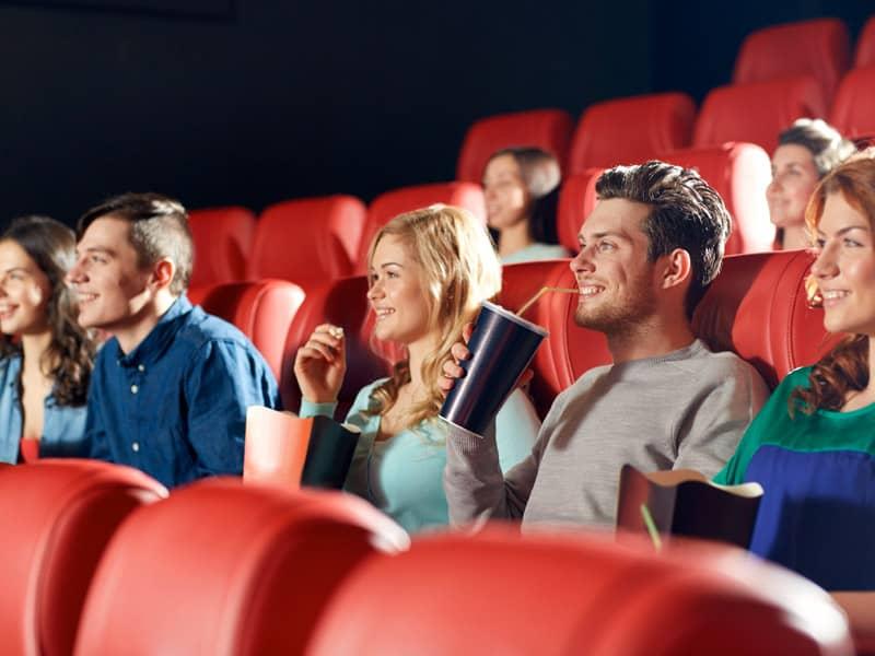 friends watching movie