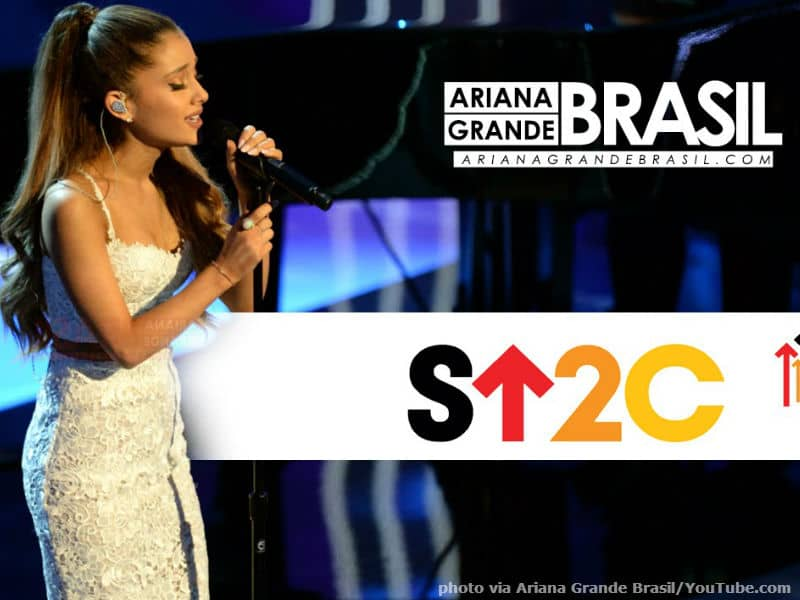 Ariana Grande Stand Up to Cancer
