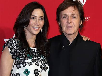 Paul McCartney & Nancy Shevell