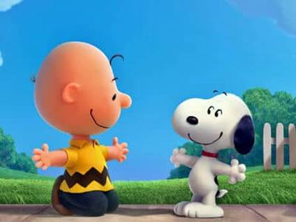 Charlie and Snoopy Movie Still