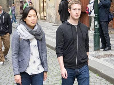 Mark Zuckerberg & Priscilla Chan