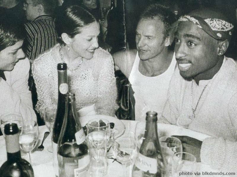 Madonna and Tupac