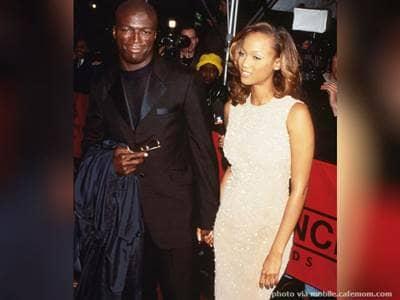 Tyra Banks and Seal
