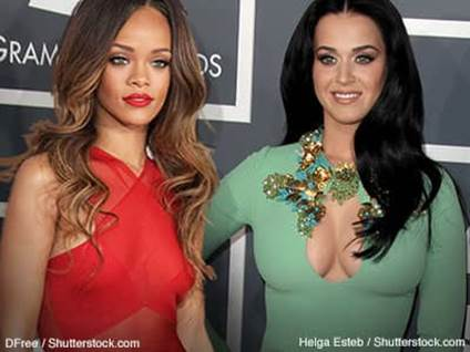 Rihanna Katy