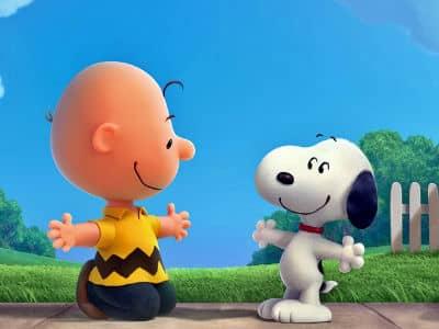 Charlie and Snoopy Movie Still