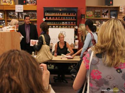 Chelsea book signing