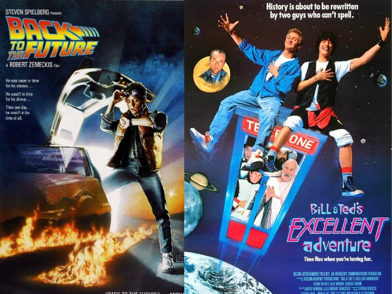 Back to the Future and Bill Ted
