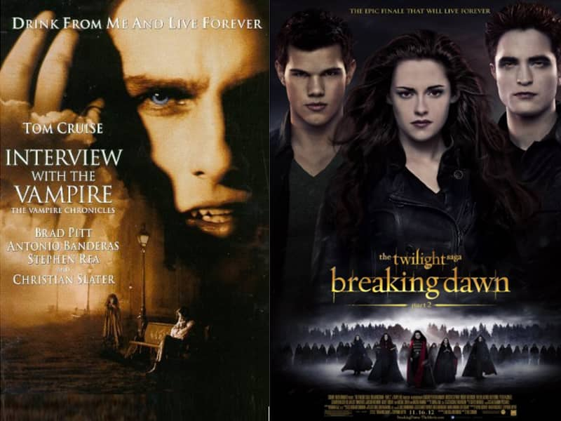 Interview and Breaking Dawn