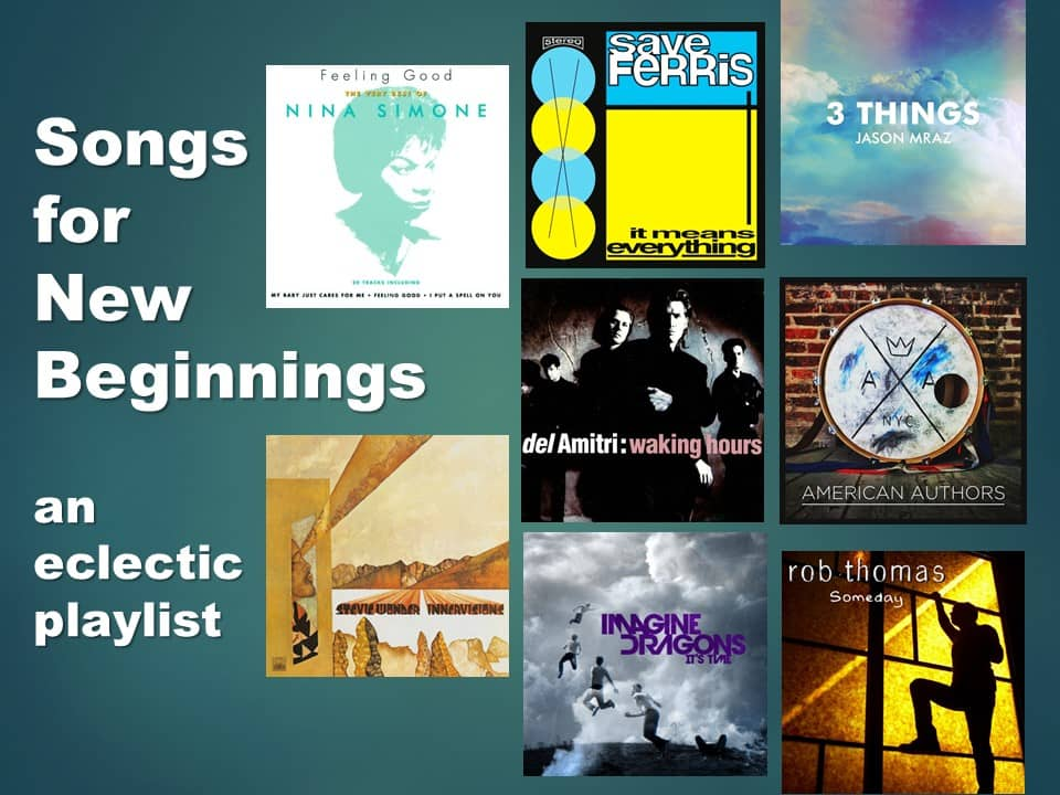 Songs for New Beginnings 1 Opening