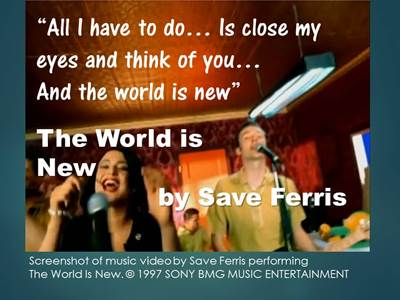 Songs for New Beginnings 3 Save Ferris