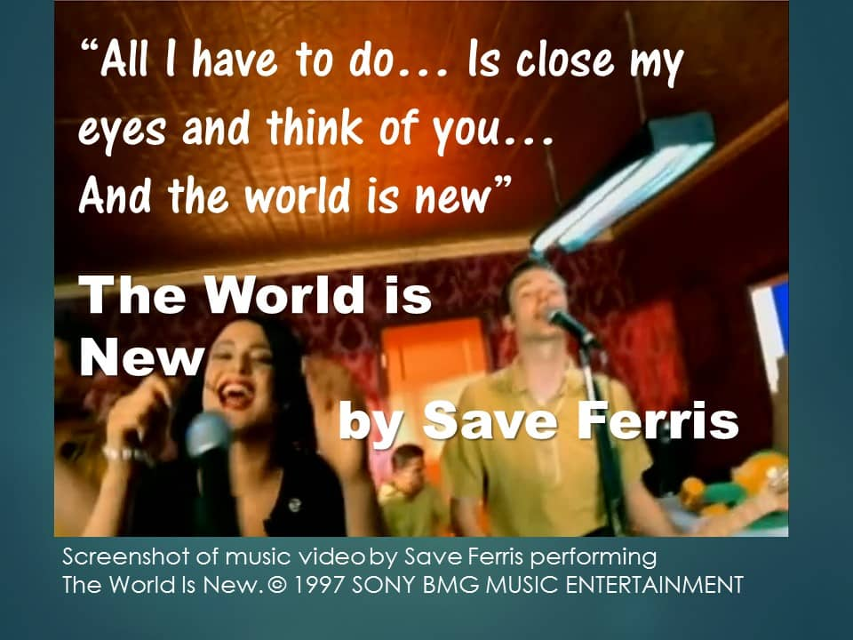Songs for New Beginnings 3 Save Ferris