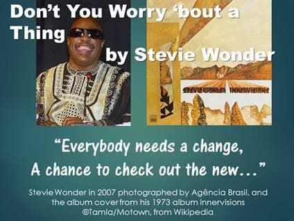 Songs for New Beginnings 4 Stevie Wonder
