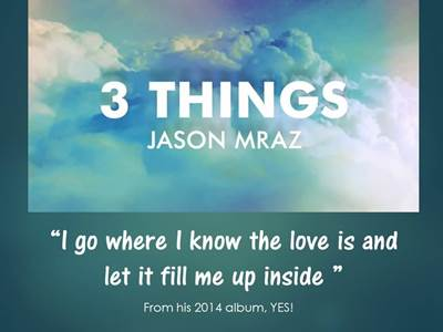 Songs for New Beginnings 5 Jason Mraz