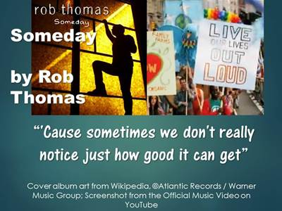Songs for New Beginnings 9 Rob Thomas
