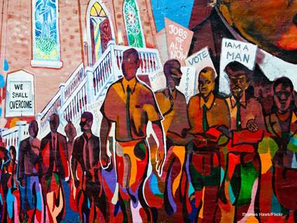 We Shall Overcome Mural