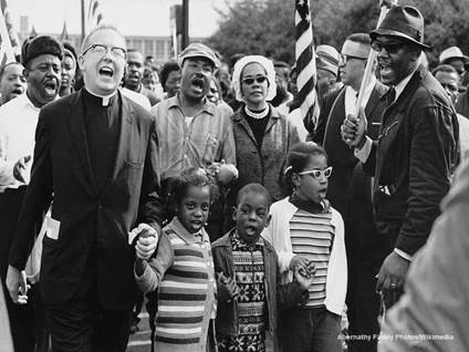 Selma March Singing