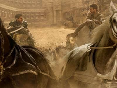 Judah and Mesalla Ben Hur