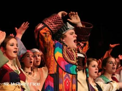 Joseph and the Amazing Technicolor Dreamcoat Production