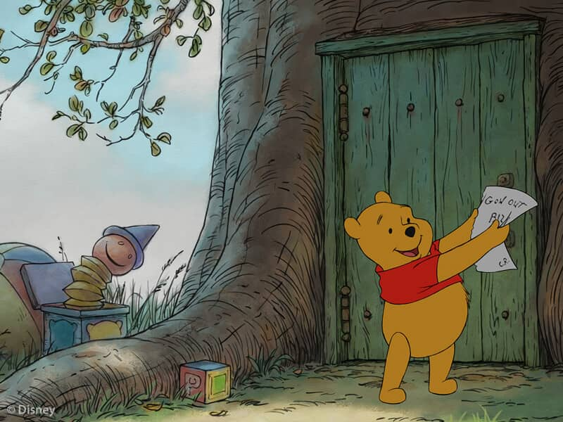 Winnie the Pooh Outside