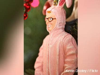 Ralphie in Bunny Costume Figurine