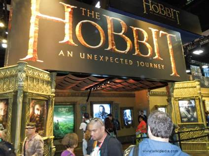 The Hobbit at San Diego Comic Con wiki 2012