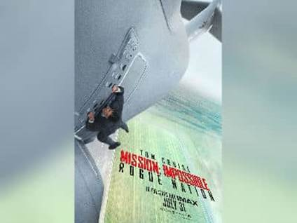 Mission Impossible Rogue Nation Poster