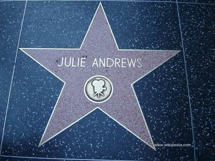 Julie Andrews HWoF Star