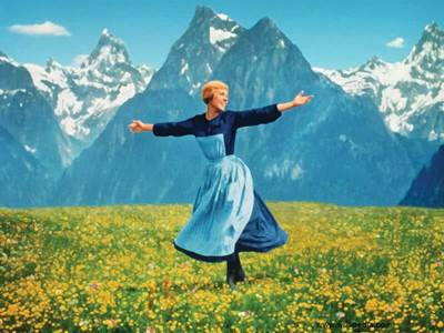 Theatrical Poster for the  1965 Sound of Music film ebay