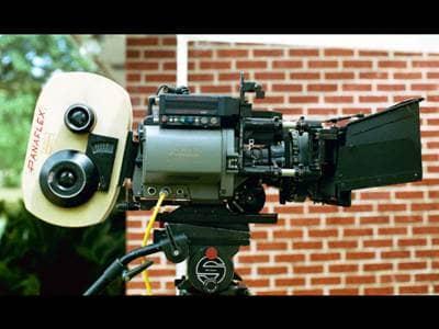 Movie Camera Rolling