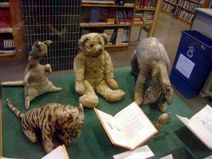 Stuffed Animals from Winnie the Pooh
