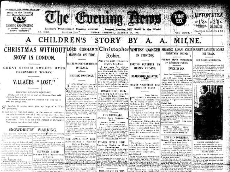 Story in Newspaper
