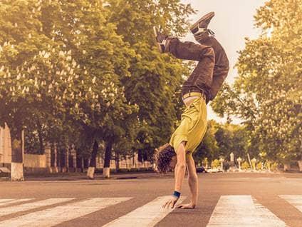 handstand street