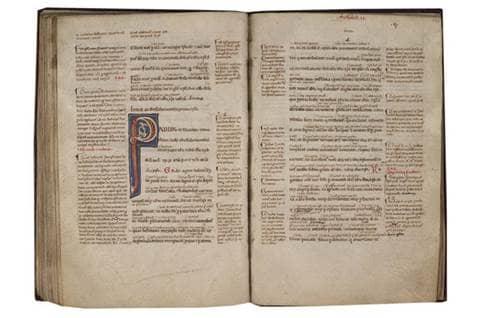 14  idda collection   vulgate bible epistles of st  paul 1  l