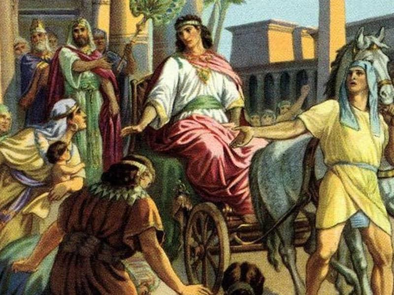Joseph Made King