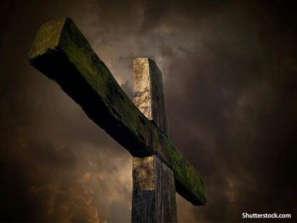 old wooden cross
